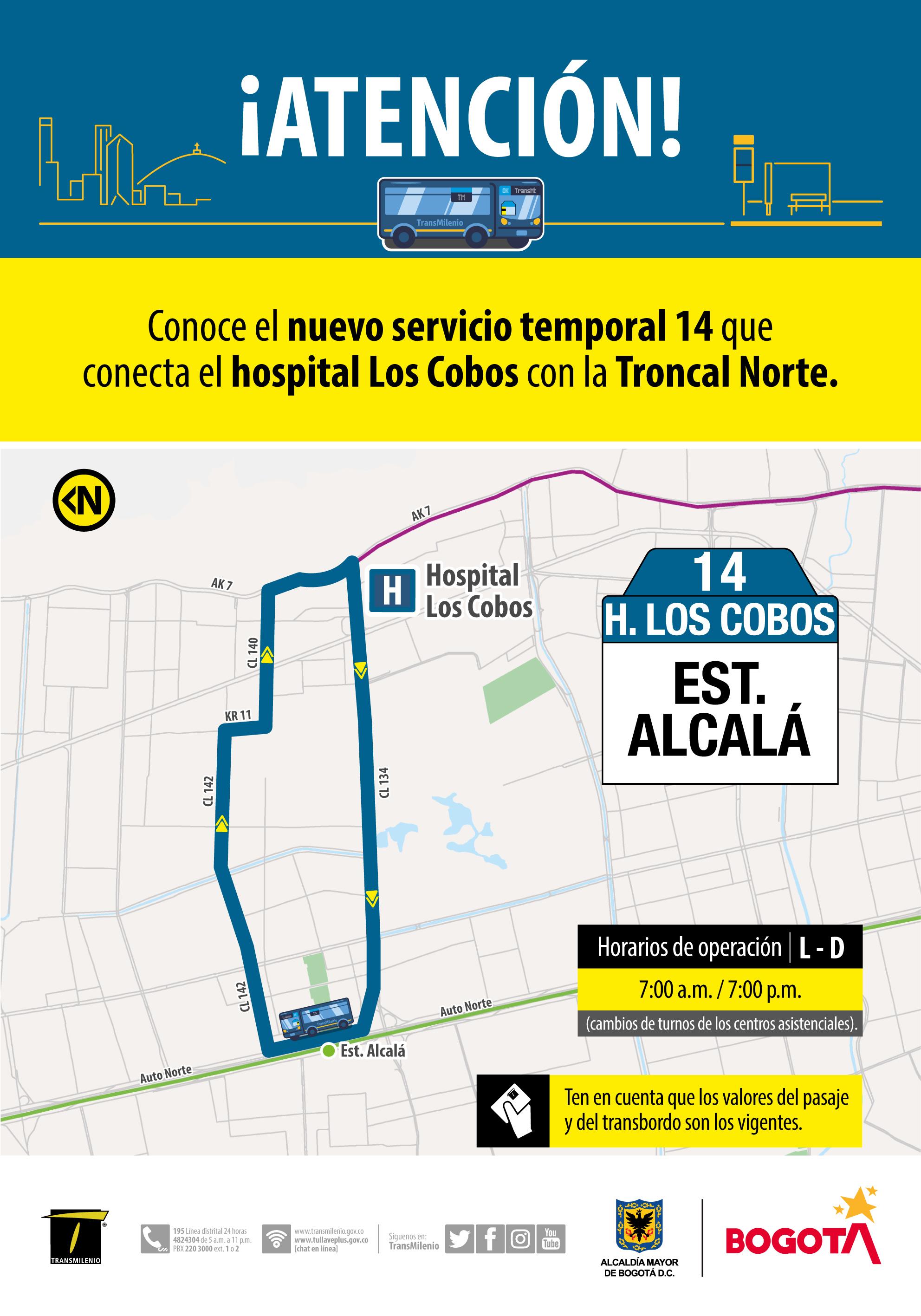 Ruta Urbana Los Cobos
