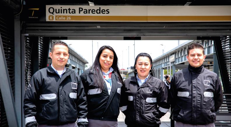 Operadores de Buses de TransMilenio