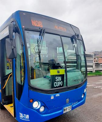 Bus Sin cupo