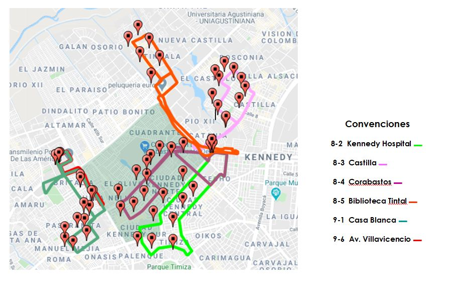 Modificacion De Rutas Zonales En Localidad De Kennedy Por Alerta Naranja