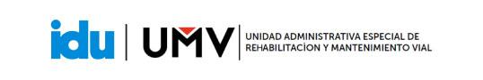 Logo de IDU y UMV