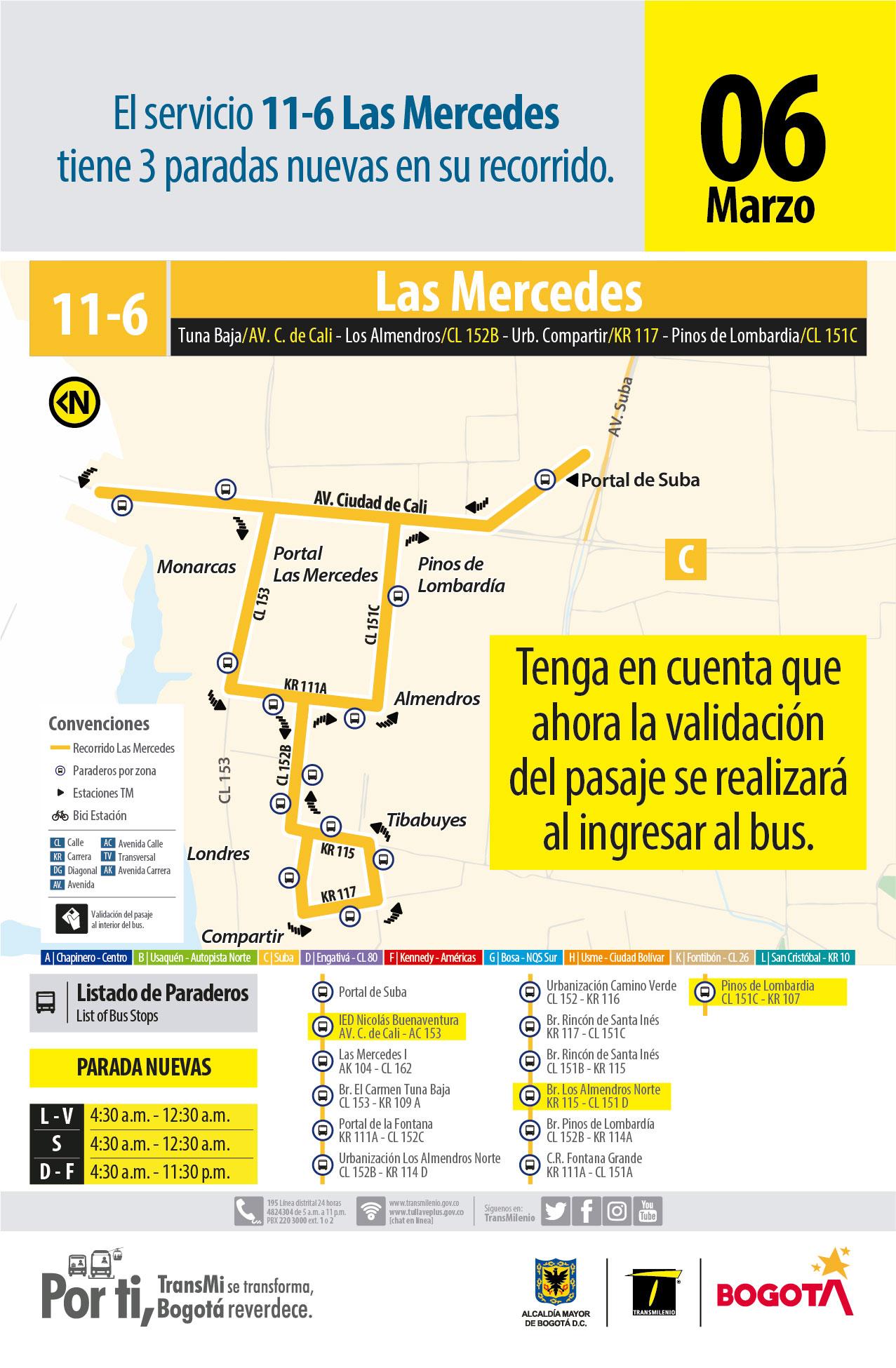 11-6 La Mercedes