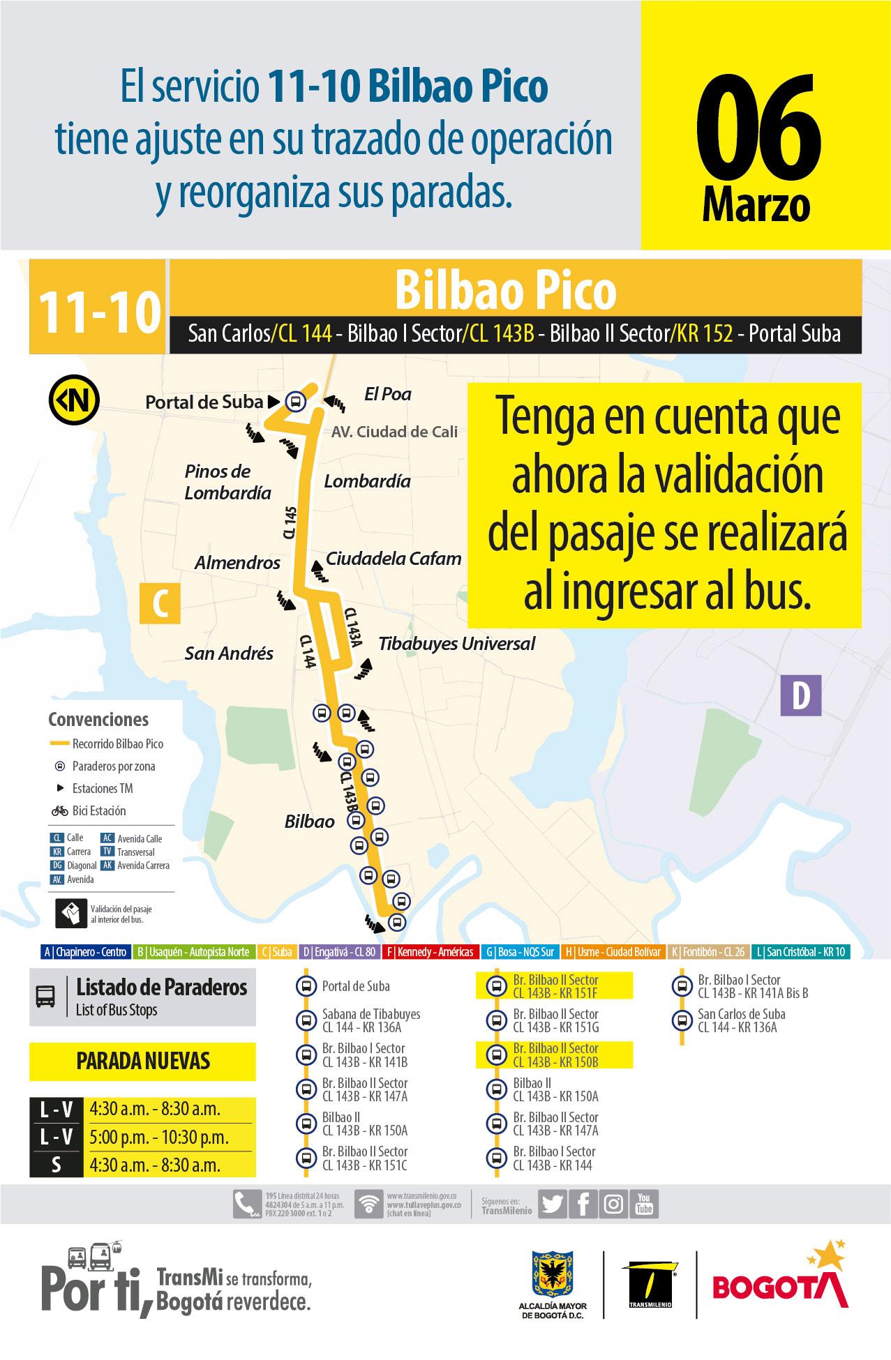11-10 Bilbao Hora pico