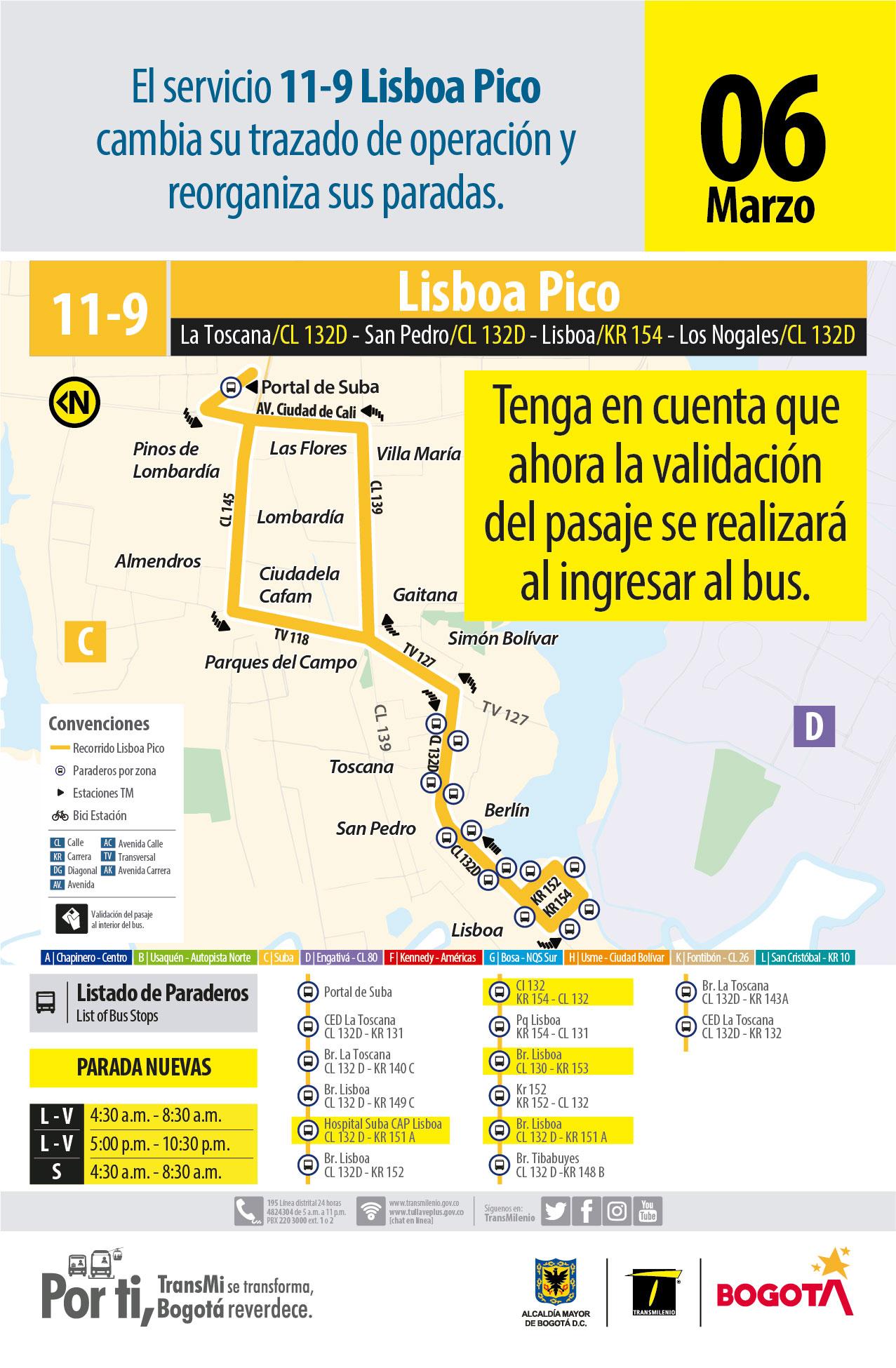 11-9 Lisboa Hora pico