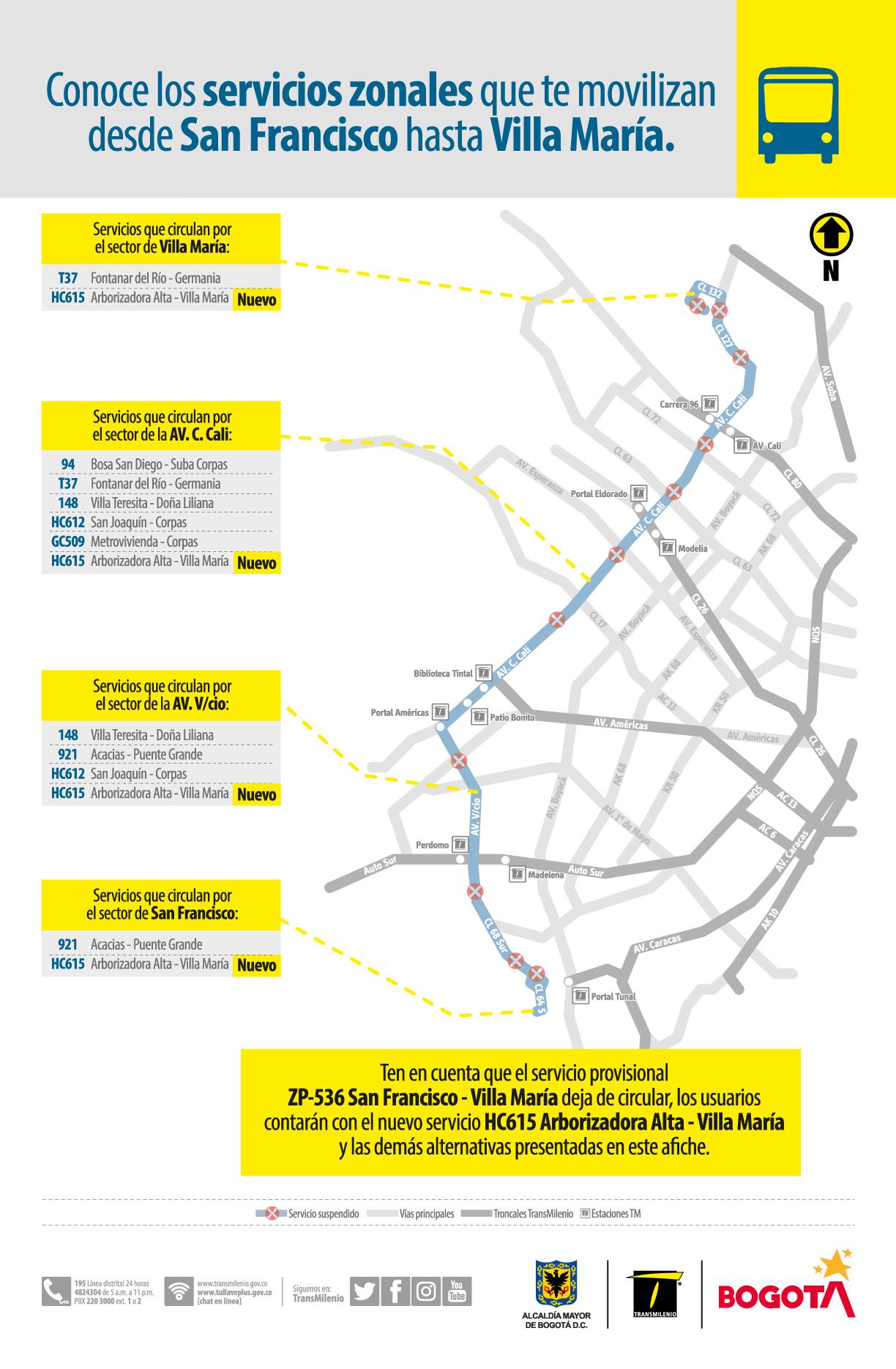 Servicios que te movilizan desde San Francisco hasta Villa María
