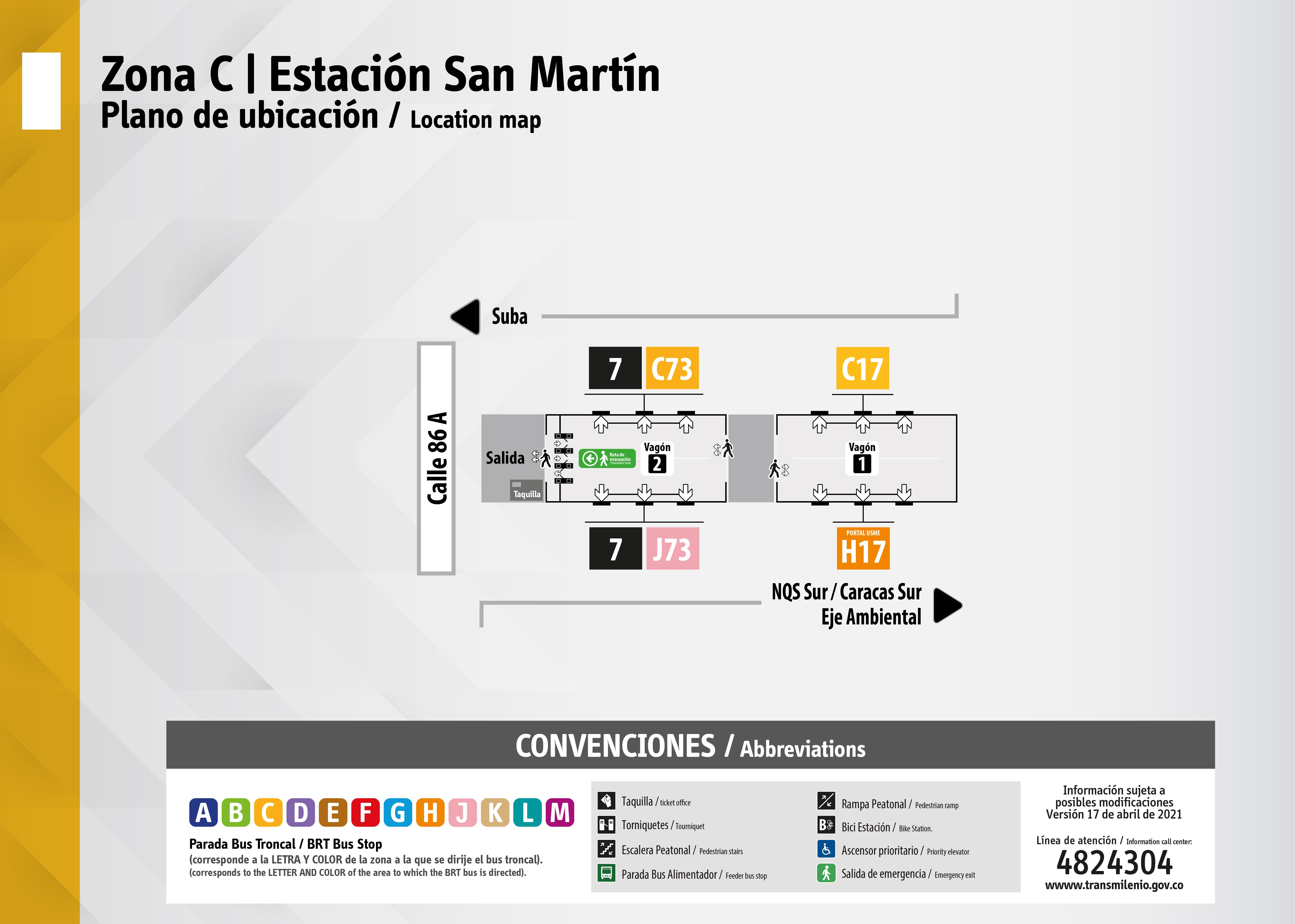 Estación de San Martín se amplía
