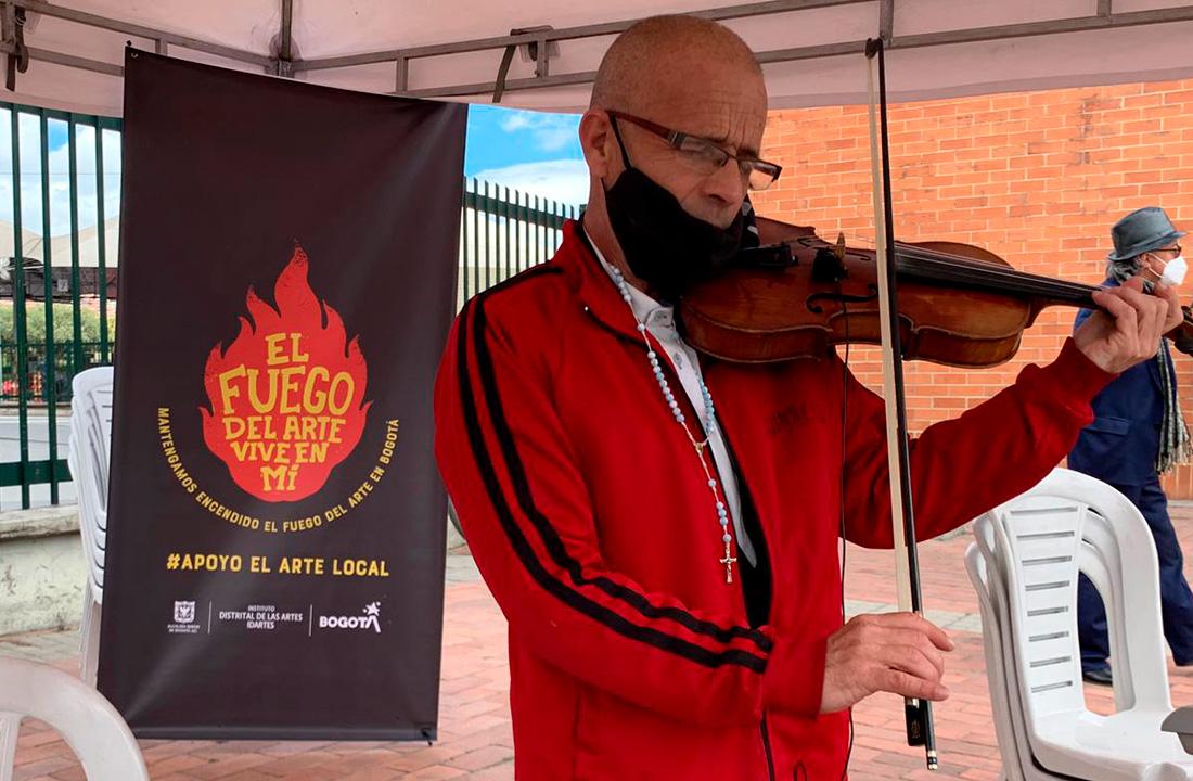 Libre expresión de personas por medio de la música