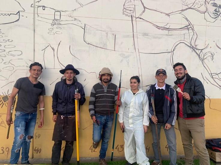 Colectivo Subarsivos: Reinaldo Castro, David Lemus, Juan Millan, Olga Chaparro, Orlando Rincón, Harold Pouchard