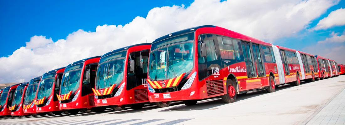 Flota de buses nuevos
