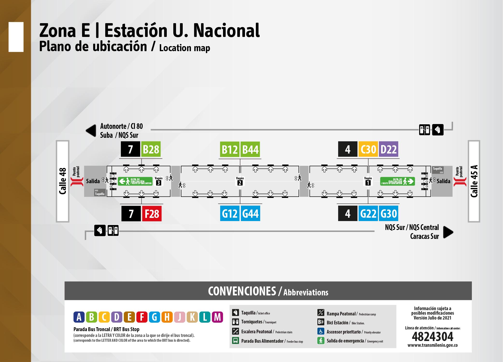 Estación de la Universidad Nacional