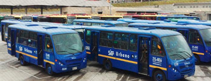 8 rutas del SITP presentan novedad desde el 11 de febrero