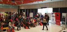 Hackathon por la seguridad y la cultura inicio del evento