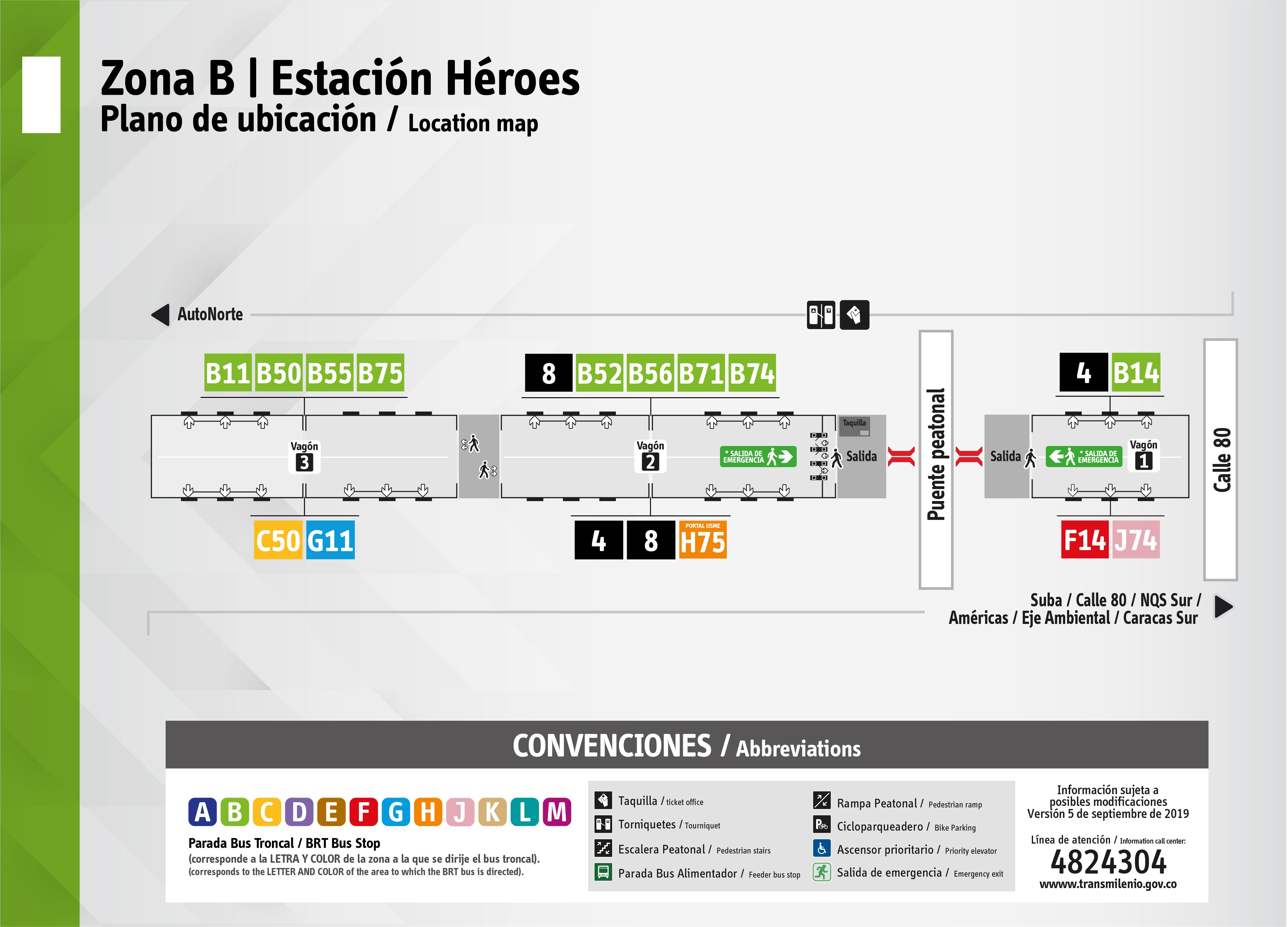 Plano de estación Heroes