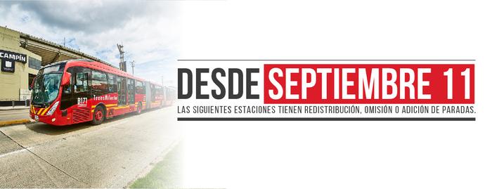 TransMilenio continúa cambios operativos por llegada de buses biarticulados