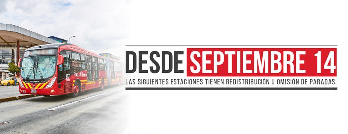 TransMilenio presenta novedades en las estaciones Calle 76, Calle 72, Calle 142, y Polo