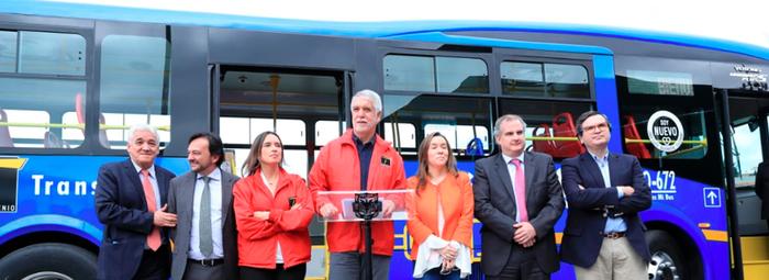 Primer bus eléctrico del SITP ya se encuentra en Bogotá