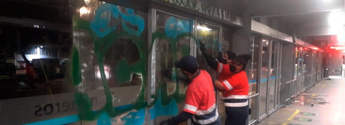 Sin operación 54 estaciones del Sistema TransMilenio