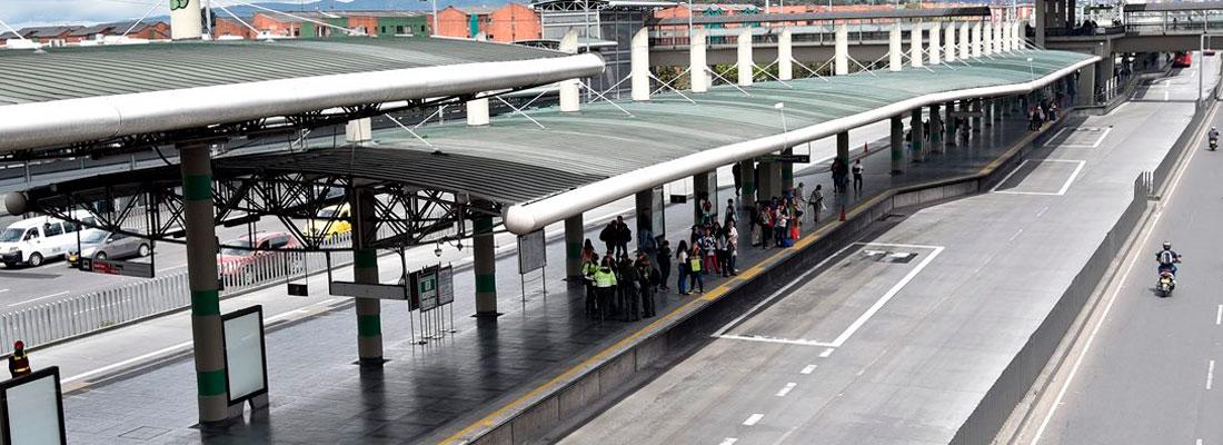 Sin operación 53 estaciones del Sistema TransMilenio