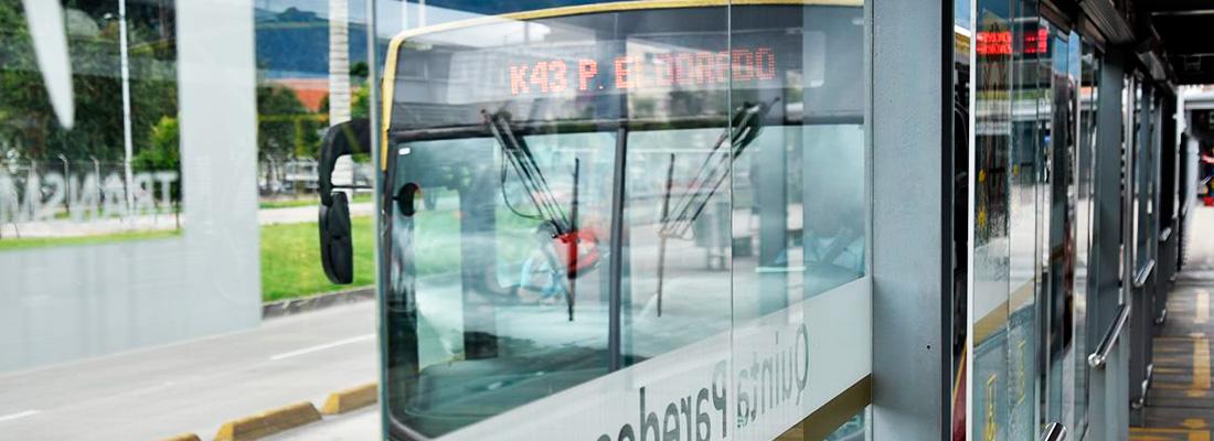 Sin operación 52 estaciones del Sistema TransMilenio
