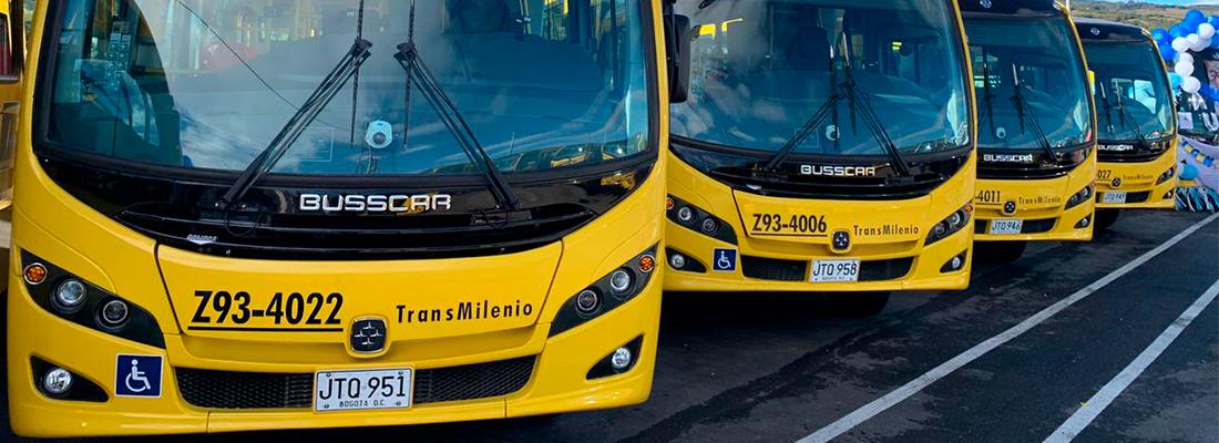 TransMilenio estrena 28 nuevos buses con 3 rutas zonales en Usme